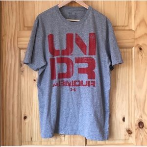 Under Armour graphic tee men's size XL